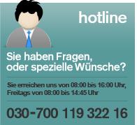 Garderoben24 Hotline 030-700 119 322 16